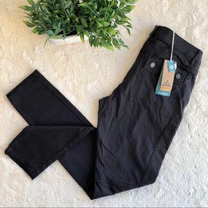 Prana Louisa skinny pants charcoal gray pockets 6